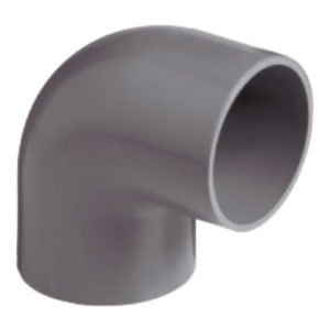 pvc-50mm-90deg-elbow-grey