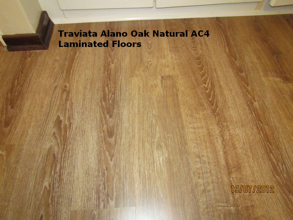 traviata supreme alano oak laminated floor ac4 class 32 is a high quality laminated floor and is recommended for domestic flooring with heavy