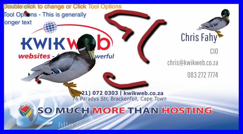 Kwikwap designers kwikwap website design logo design business the cost of our business card design is r50000 you will recieve three different designs of which you choose one we then make three sets of changes to the colourmoves